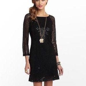 Lilly Pulitzer Sequined Cocktail Aaliyah Dress.